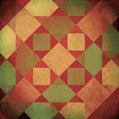 Digital Art - Squares by Steve Ball