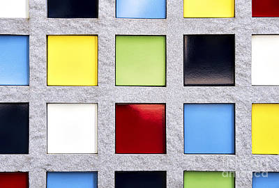 Photograph - Squares by Tim Gainey