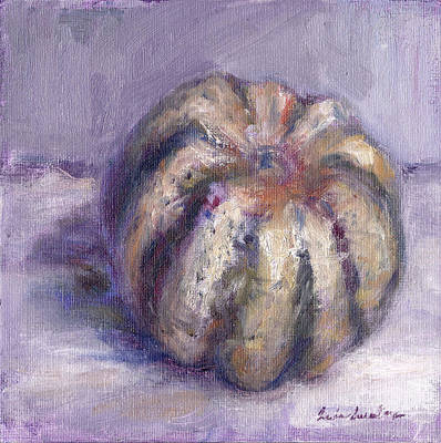 Squash - Party Of One - Original Contemporary Impressionist Painting Original by Quin Sweetman