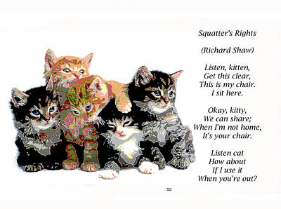Squatter's Rights Art Print