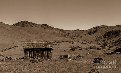 Photograph - Squaw Butte Homestead by Robert Bales