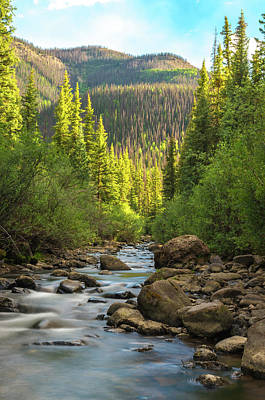 Photograph - Squaw Creek, Colorado #2 by Adam Reinhart