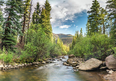 Photograph - Squaw Creek, Colorado by Adam Reinhart