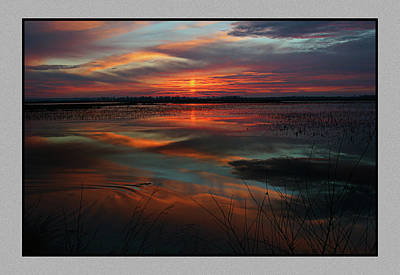 Photograph - Squaw Creek Sunset by Thomas Bomstad