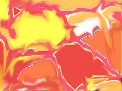 Digital Art - Squazzle Main Artwork - Lighter Version by Julia Woodman