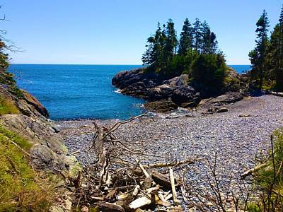 Photograph - Squeaker Cove On Isle Au Haut by Polly Castor