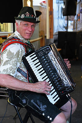 Photograph - Squeezebox by Mike Martin