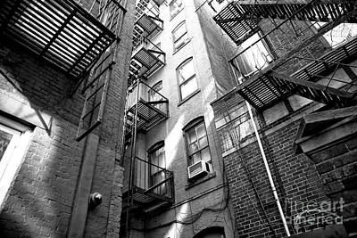 Photograph - Squeezed In Greenwich Village by John Rizzuto