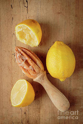 Photograph - Squeezed Lemons by Edward Fielding