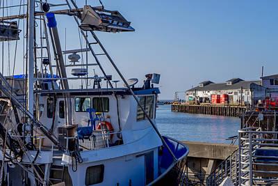 Photograph - Squid Boat by Derek Dean