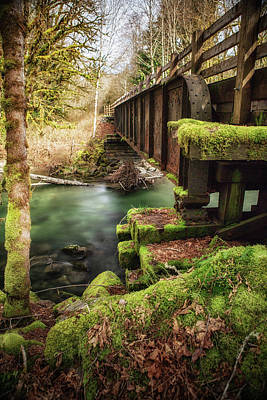 Photograph - Squire Creek Bridge by Charlie Duncan