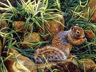 Painting - The Squirrel by Brian Durfee