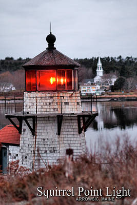 Digital Art - Squirrel Point Light by Patrick Groleau