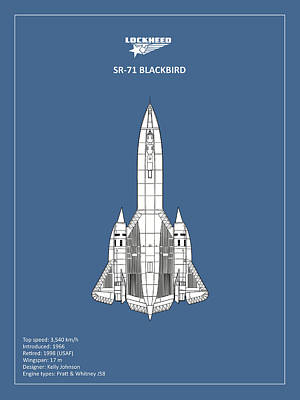 Blackbird Wall Art - Photograph - Sr-71 Blackbird by Mark Rogan