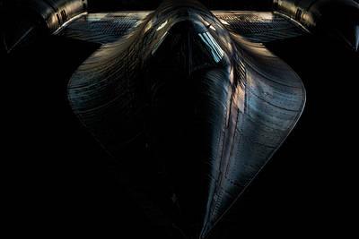 Photograph - Sr-71 Blackbird by Thomas Hall