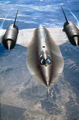Sr-71a Blackbird Strategic Art Print
