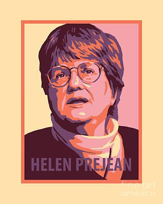 Painting - Sr. Helen Prejean - Jlhpr by Julie Lonneman