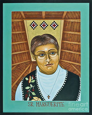 Painting - Sr. Marguerite Bartz - Lwmab by Lewis Williams OFS