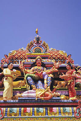 Krishnan Photograph - Sri Krishnan Temple by Gloria and Richard Maschmeyer - Printscapes