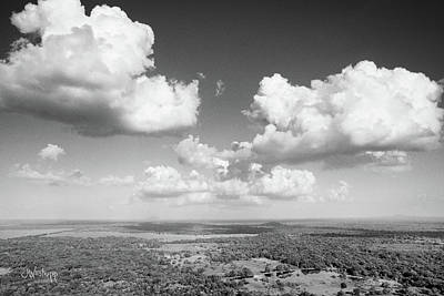 Photograph - Sri Lankan Clouds In Black by Joseph Westrupp