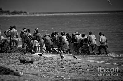Photograph - Sri Lankan Fishermen by Venura Herath