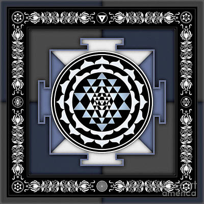 Sri Yantra - No. 2 Art Print