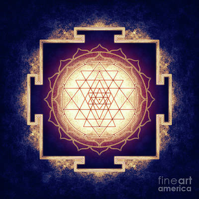 Sri Yantra - Artwork 9 Art Print
