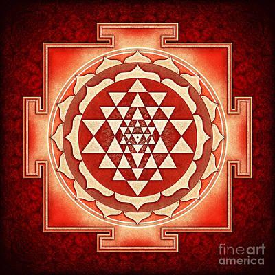 Sriyantra Digital Art - Sri Yantra Artwork No. 5 by Dirk Czarnota