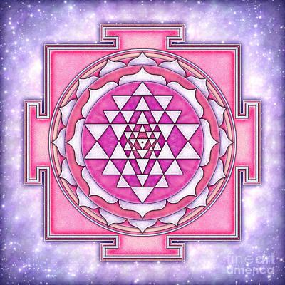 Sriyantra Digital Art - Sri Yantra Artwork No. 6 by Dirk Czarnota
