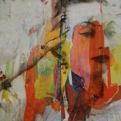 Indian Portraits Mixed Media - Sridevi Kapoor by Paul Lovering