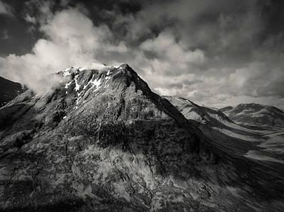 Photograph - Sron Na Creise by Dave Bowman