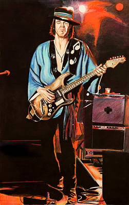 Painting - SRV by Chris Benice