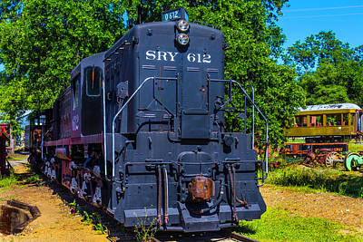 Old West Photograph - Sry 612 Dessel Train by Garry Gay