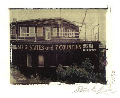 S.s. Grand View Hotel...ship Of The Alleghenies Prow Art Print by Steven  Godfrey