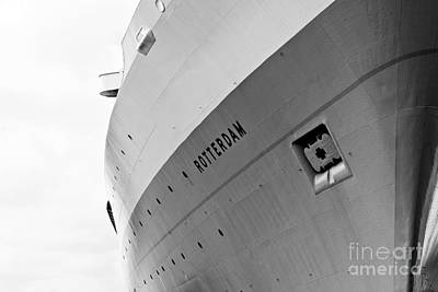 Photograph - Ss Rotterdam Abstract by Dean Harte