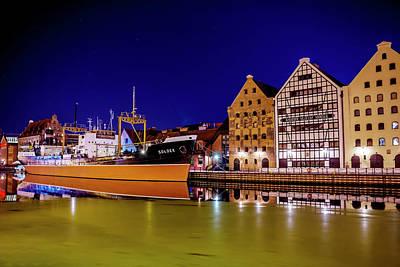 Water Vessels Photograph - Ss Soldek Gdansk Poland  by Carol Japp