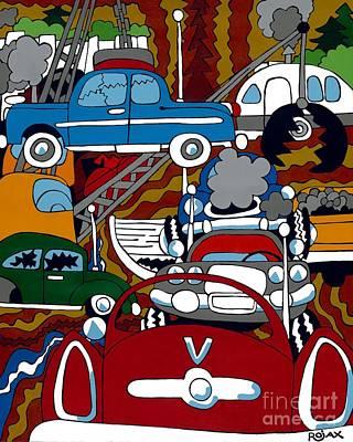 Painting - Ss Studebaker by Rojax Art