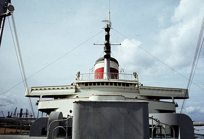 Photograph - Ss United States Foredeck by John Harding