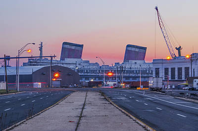 Liner Digital Art - Ss United States From Delaware Avenue by Bill Cannon
