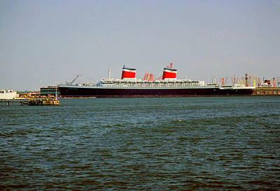 Photograph - Ss United States by John Harding