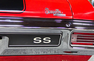 Barrett Jackson Wall Art - Photograph - SS by Wayne Vedvig