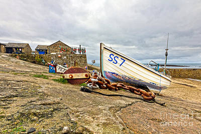 Photograph - Ss7 Sennen Cove Cornwall by Terri Waters