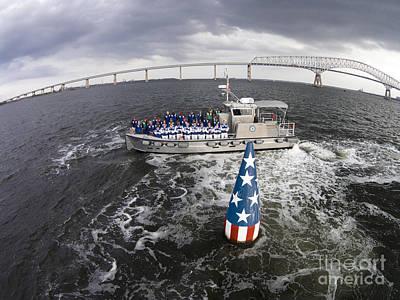Photograph - Ssc Buoy 121 by Tony Cooper