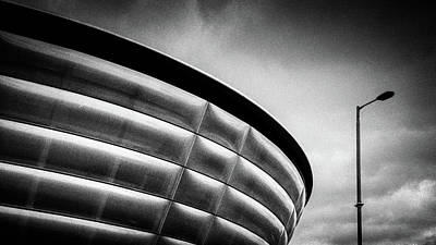 Hydro Wall Art - Photograph - Sse Hydro by Dave Bowman