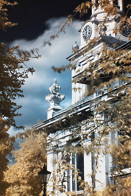 Photograph - St Alfege Parish Church In Greenwich, London by Helga Novelli