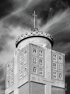 Diploma Photograph - St. Ambrose University Christ The King Chapel by University Icons