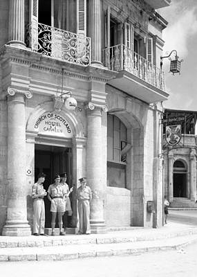 Photograph - St. Andrew House 1943 by Munir Alawi