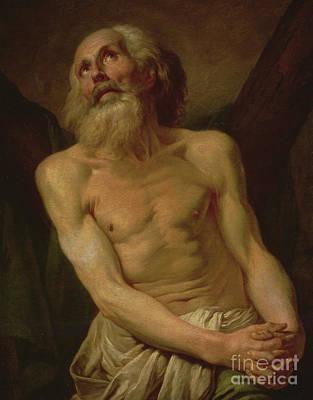 St Andrew The Apostle Art Print