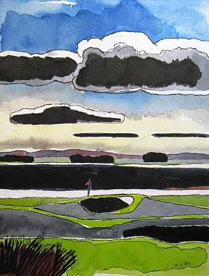 St Andrews 11 Art Print by Lesley Giles