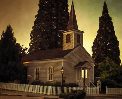 Photograph - St. Andrews Church   by Thom Zehrfeld